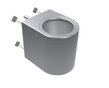 INOX wc solja satin Senda Delabie (020102) *0116090001