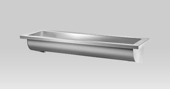 INOX lavabo zidni (kanal) L-1800 *120280