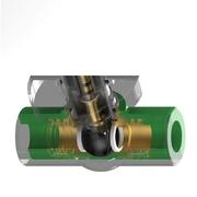 """TECO PPR ventil 1"""" zeleni *I404981V00"""