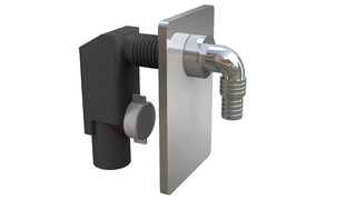 Sifon za VM - PVC CH uzidni 40 ch lula *3400CR40B9