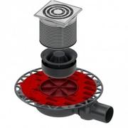 TECE slivnik 50 H komplet suvi inox ram *3601102