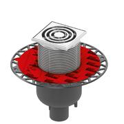 TECE slivnik 50 V komplet PVC ram *3601300