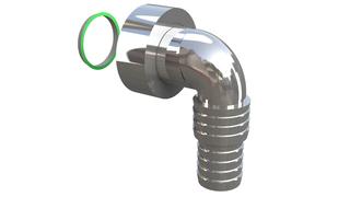 Lula PVC-CH za sifon za ves masinu Bonomini *3920CR44B7