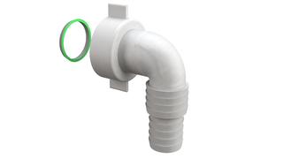 Lula PVC-BELA za sifon za ves masinu Bonomini *3920EC44B0