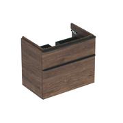 Ormaric za lavabo 75 Smyle Square,2 fioke,orah *500.353.JR.1