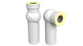 WC prikljucak – koleno 110 zglobno Bonomini *8210UN11B0