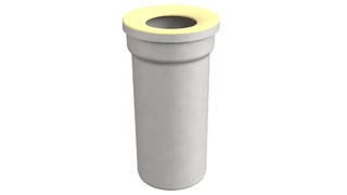 WC prikljucak - pvc prav 110x255mm Bonomini *8431PP11C0