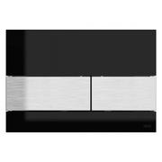 TECEsquare PLOCA crno staklo,cetkani celik *9240806