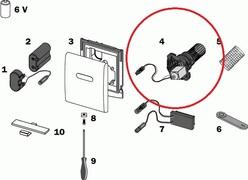 TECE virbla za senzorsku plocu *9820089