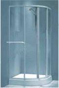 AF Kabina R-80 x 180 AQUA sa drzacem peskira,bela mreza staklo *100-12124