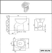 Wc solja PRO - simplon za invalide PRO