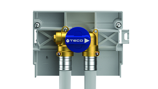 TECO ugradna kutija za H vodu sa ventilima DN15 FASTEC *K401BF10100