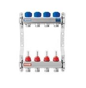 """KAN inox razdelnik 10 - 5/4"""" sa meracem protoka i servo motor ventilima N75100E"""