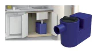 Separator masti ispod sudopere *NDD25SL