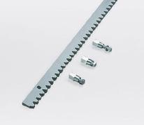 NICE Letva 30x8x1000mm metalna za klizne kapije *ROA8