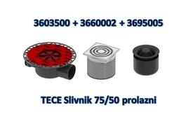 TECE Slivnik 75/50 prolazni *360350+3695005+360002