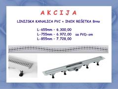 A K C I J A * Linijska resetka BRNO dizajn 2