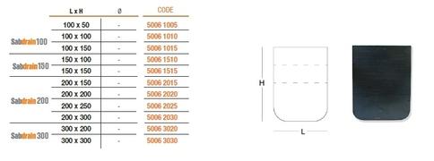 CEP ZA KANAL SDrain 100/100 code.50061010