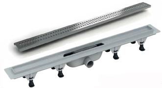 Linijska resetka kanal PVC+INOX L-390