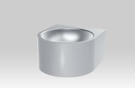 INOX lavabo 36x39 saten Facil Delabie *0211080015