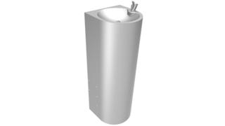 INOX stojeca fontana za pijacu vodu SD Senda