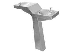 INOX stojeca fontana za pijacu vodi Slide Senda