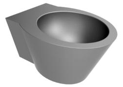 INOX lavabo Folsa Senda