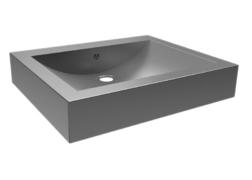 INOX lavabo nadgradni Uno Senda