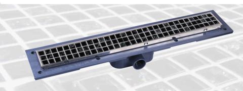 Linijska resetka PVC+INOX Tiles L550