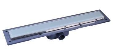 Linijska resetka PVC+INOX Glass L550