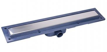Linijska resetka PVC+INOX Elegant L300