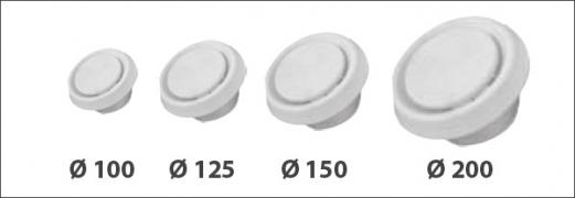 Ventil usisno - potisni Q 100 *V00100